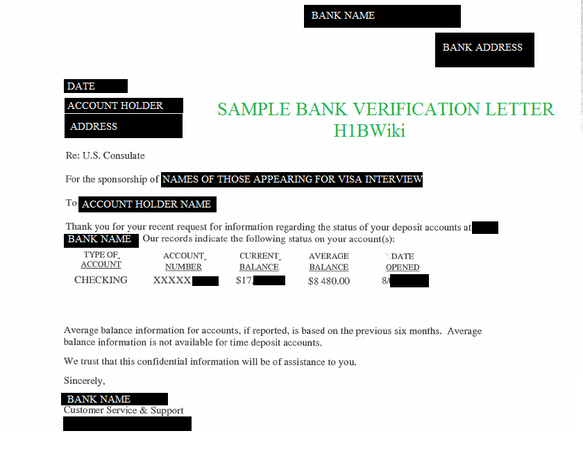 bank account verification letter bank account verification letter sample 2093